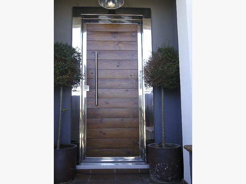 puertas exteriores acero madrid