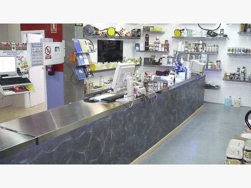 mostradores acero inoxidable tiendas madrid