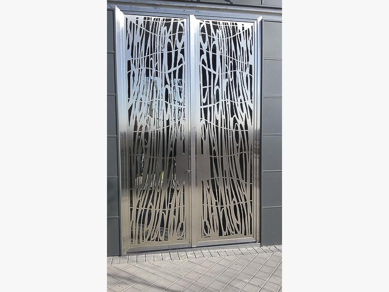 puertas de diseo acero madrid