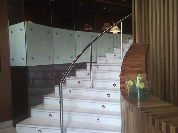 pasamanos acero escaleras madrid