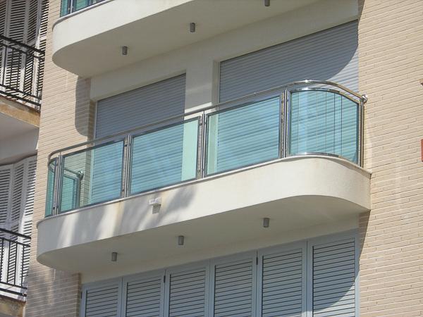 barandillas acero terrazas madrid