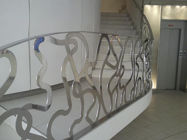 barandillas acero de diseño madrid