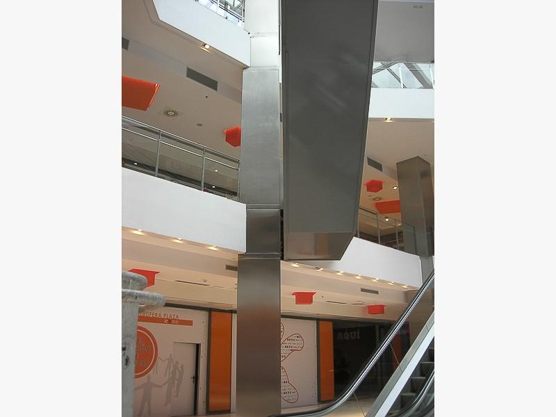 forrado acero centros comerciales madrid
