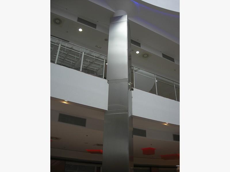 columnas de acero madrid