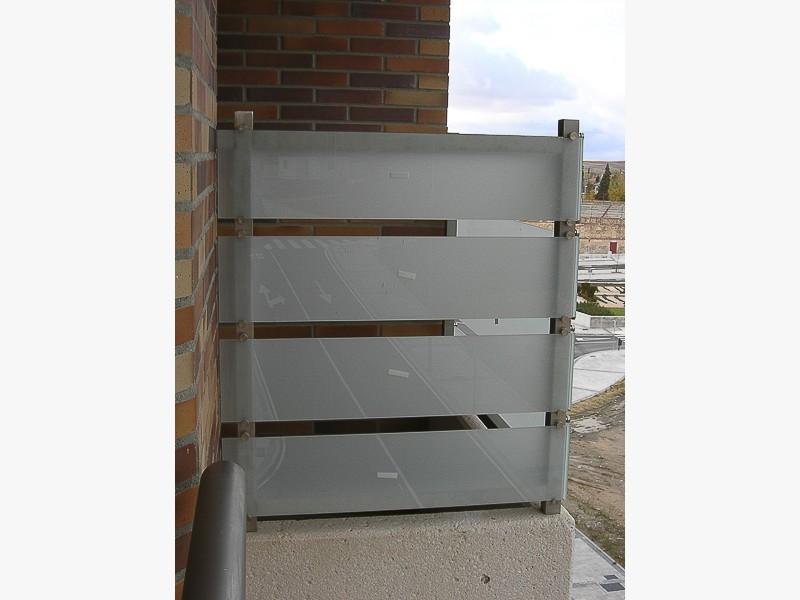 fabricación barandillas balcones madrid