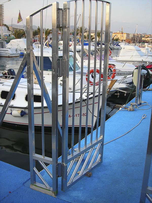 acero inoxidable puertos madrid