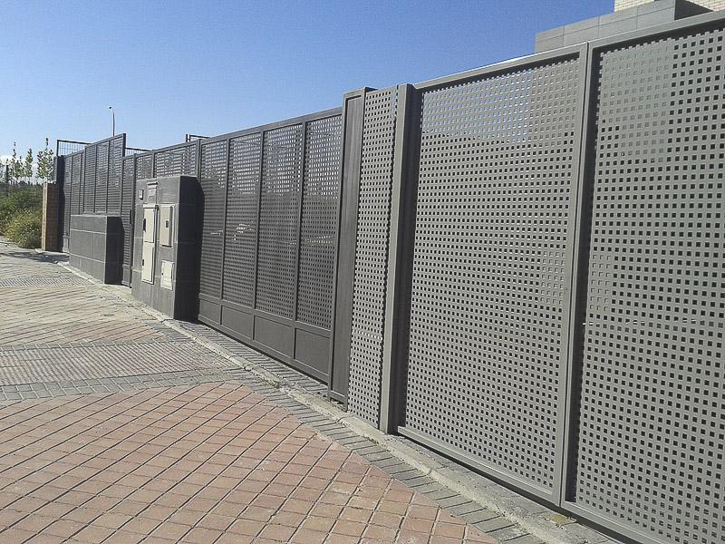 fabricación vallados perimetrales madrid