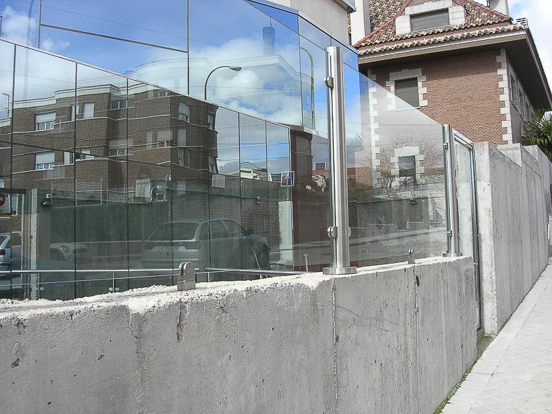 cerramientos vidrio y acero madrid