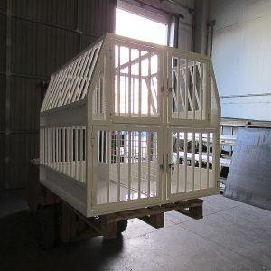 fabricación jaulas acero madrid