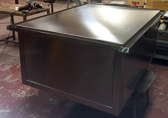 muebles industriales acero inox madrid