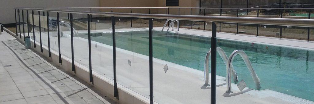 perímetros piscinas acero madrid