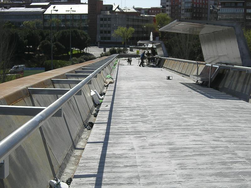 barandillas puentes madrid