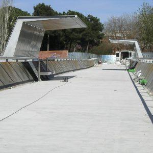 barandillas puentes m30 madrid