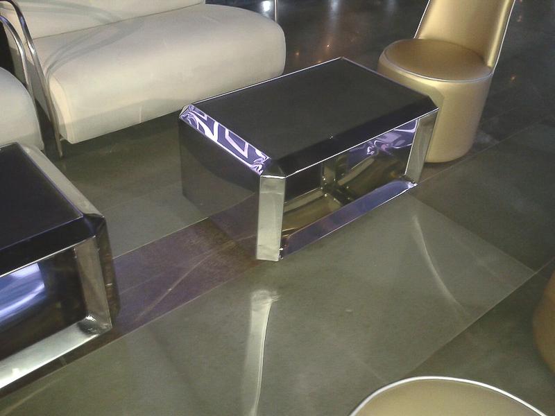muebles de diseño de acero inoxidable madrid