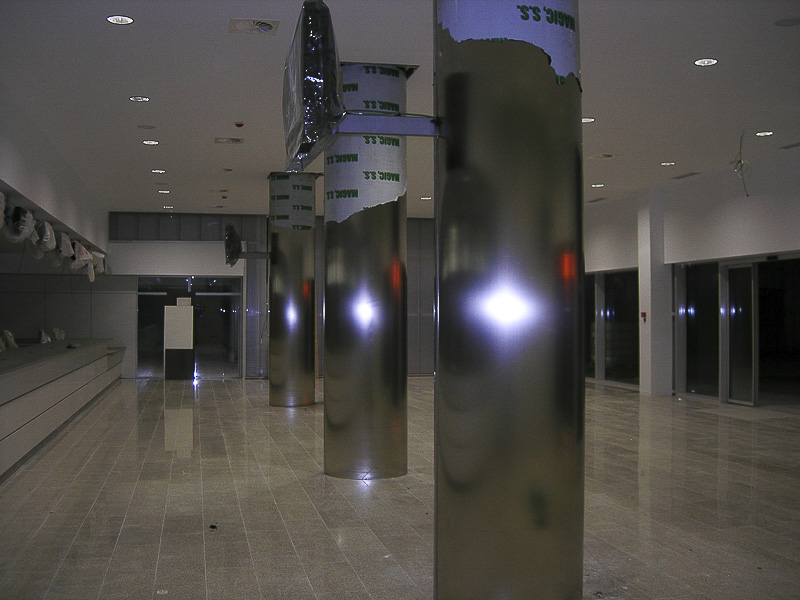 columnas acero madrid