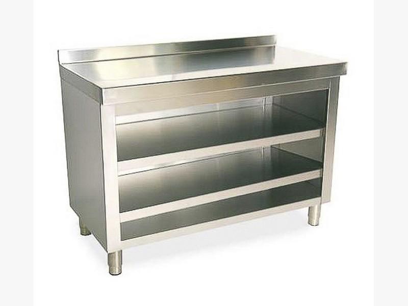 mobiliario industrial acero madrid