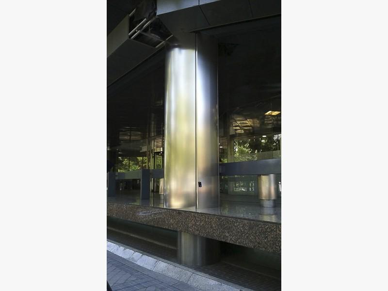 forrado de columnas con acero madrid